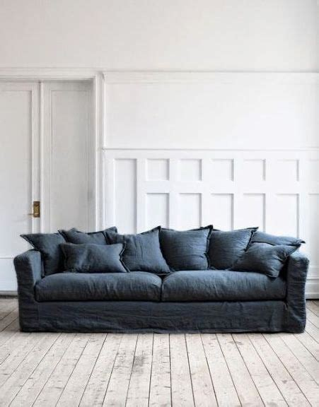 dark gray slipcover best 25 denim sofa ideas on pinterest navy couch blue