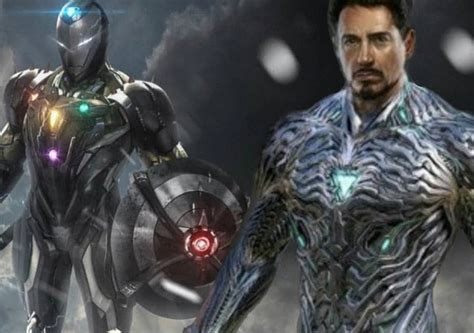 avengers endgame iron mans suit infinity stones