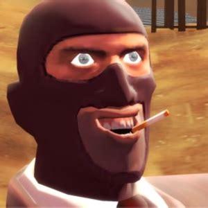 Spy Meme - a red spy s profile wall know your meme
