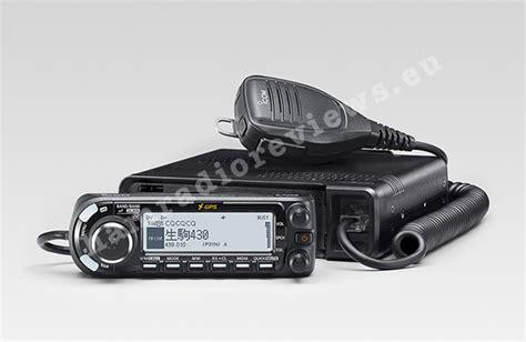 icom mobile icom announced id 4100 dstar mobile radio ham radio reviews