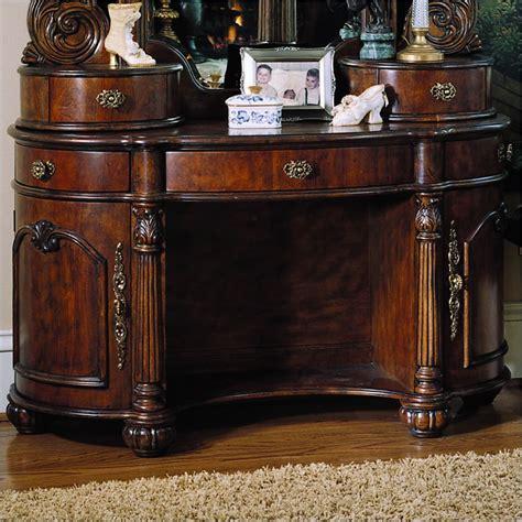 Antique Bedroom Vanity Furniture by Pulaski Edwardian Wood Makeup Vanity Table For The Home