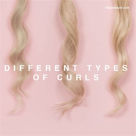 all the different types of curls different types of curls hair extensions blog hair