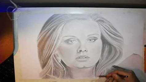 imagenes a lapiz hermosas dibujo a lapiz de adele drawing adele set fire to the