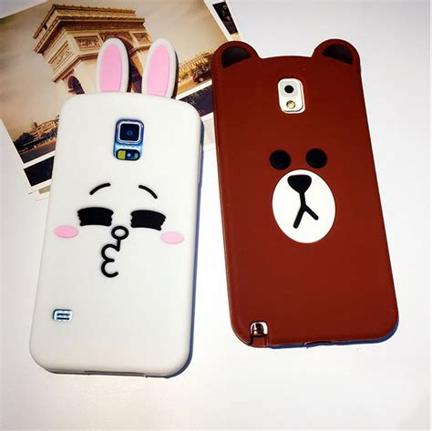 in stock line friends brown phone casing cover