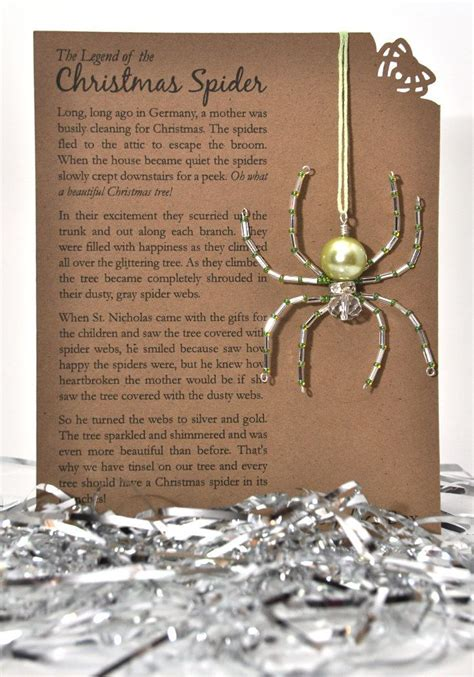 printable version christmas spider pin by gail lavelle on craft ideas pinterest