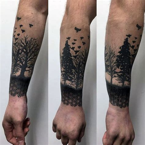 lower arm half sleeve tattoos for men 100 flower of designs for geometrical