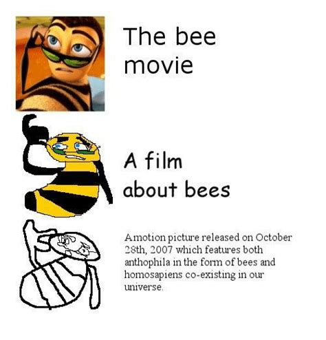 Bee Movie Script Meme - search the bee movie script memes on me me