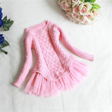 Of Tutu Dress Anak the quot quot sweater tutu dress in pink products beautiful sale and products