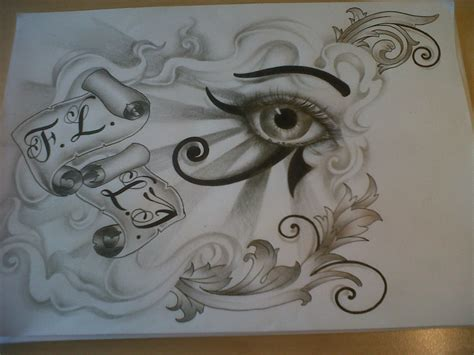 eye of horus tattoo design horus eye design by tattoosuzette on deviantart