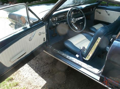 65 mustang upholstery 65 mustang fastback v8 at ps pb new interior
