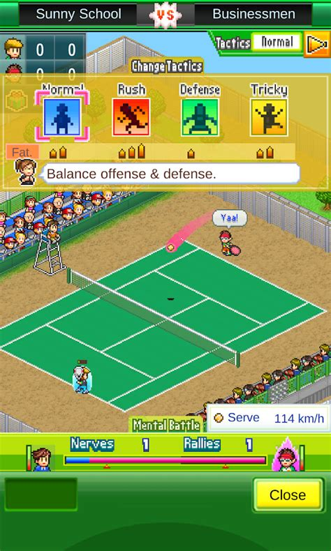 aptoide kairosoft tennis club story android apps on google play