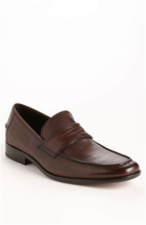 big loafers kenneth cole brown leather big winner loafers in