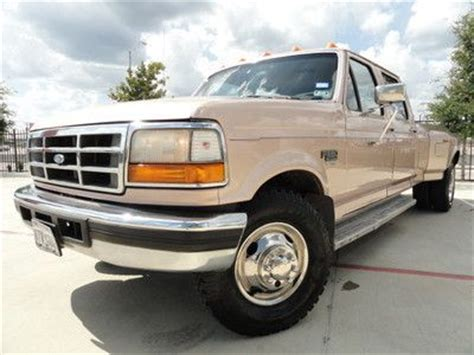 car owners manuals for sale 2002 ford f350 transmission control purchase used 1996 ford f350 7 3l diesel manual dually crew cab 7 3 texas no reserve in houston