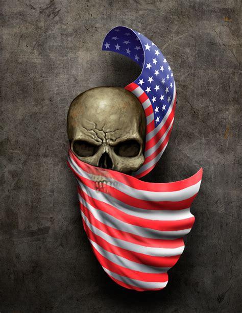 american flag skull tattoo collection of 25 frank american flag skull on leg