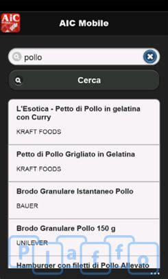 database alimenti aic mobile un ricco database di alimenti indicati per i