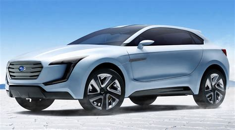 subaru viziv concept previews new suv design language