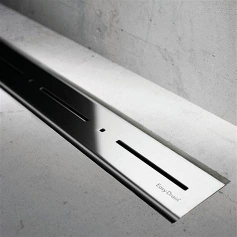 acero inoxidable pulido easy drain modulo basic canaleta de ducha