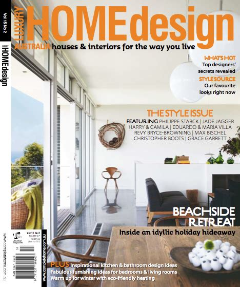 design magazine front page interiors addict in luxury home design the interiors addict