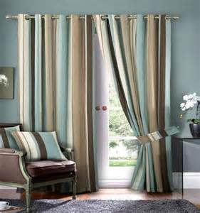 Blue and brown curtain panels best curtains design 2016