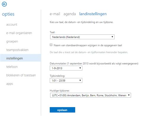Office 365 Portal Language Change Office 365 Changing The Regional Settings In Office 365