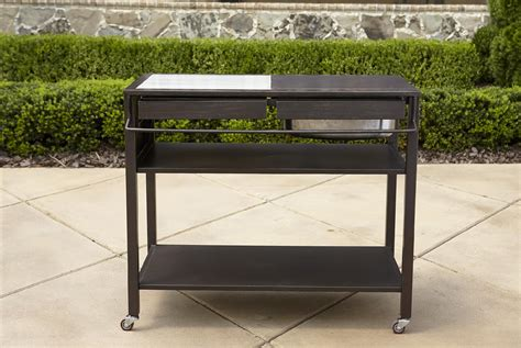 outdoor kitchen cart la z boy outdoor halley kitchen cart shop your way