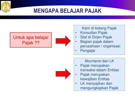 PPT   Konsep Dasar Pajak PowerPoint Presentation   ID:2305905