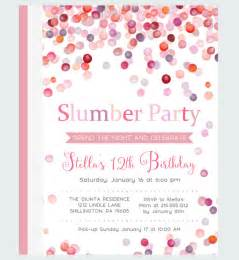 sleepover invitation templates free free invitations template 187 free sleepover invitation