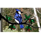 Stained Glass Birds By Chippaway Art
