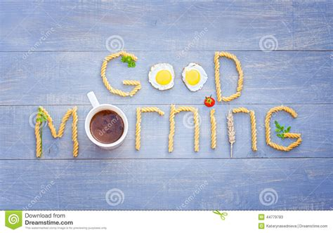 Good Morning Sign Stock Photo   Image: 44779783