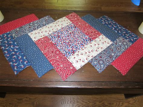 Patchwork Table Runners - my patchwork quilt patriotic table runner