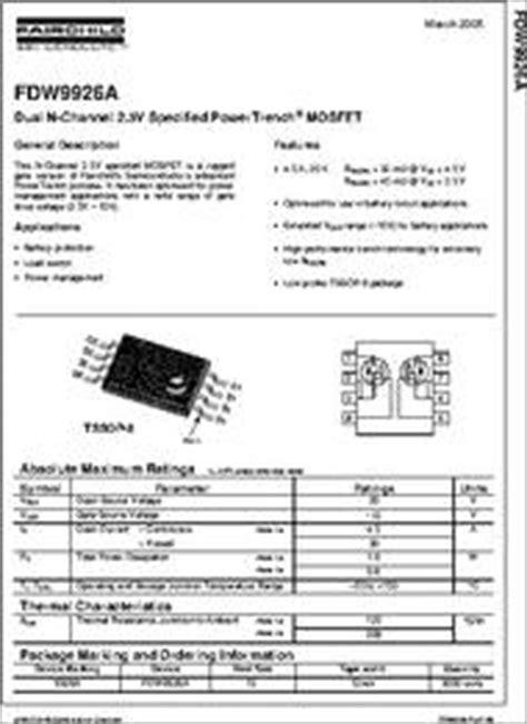 datasheet dual  channel