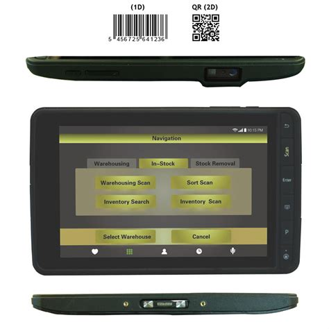 rugged tablet with barcode scanner android 4 4 rugged tablet with 2d barcode scanner nfc reader 3g gps wifi bluetooth