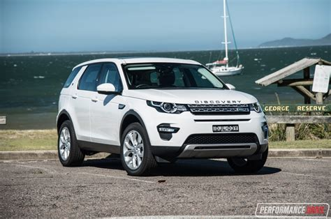 land rover hse white 2017 land rover discovery sport hse td4 180 review
