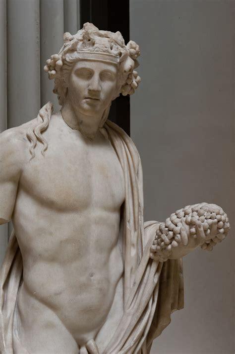 dionysus greek god statue dionysos i marble statue of the wine god dionysos