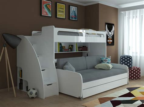bunk bed with sofa bed sofa transformable murphy bed sofa systems