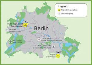 berlin map of germany map of berlin airports