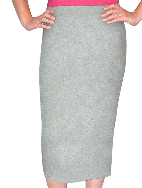 kosher casual s modest mid calf tapered pencil skirt