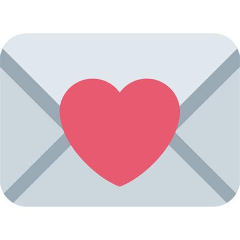 Letter Emoji lettre d amour emoji