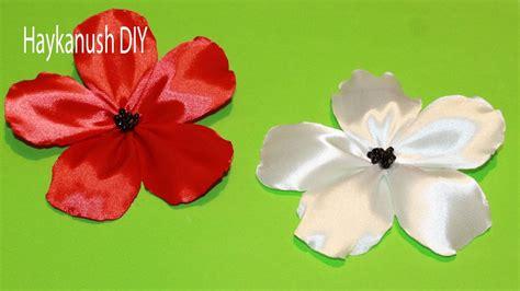 vomo hacer flores en cinta de agua como hacer flores de cinta faciles youtube