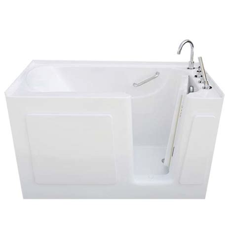 bathtub 54 x 30 54 x 30 walk in tub soaker series right drain