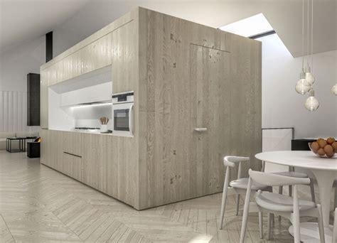 cuisine facade bois cuisine facade bois