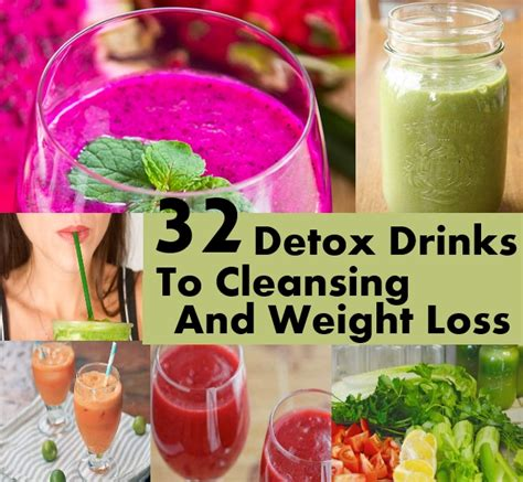 Detox And Weight Loss Drinks Made At Home by 32 Detox Drinks To Cleansing And Weight Loss Diy Home Things