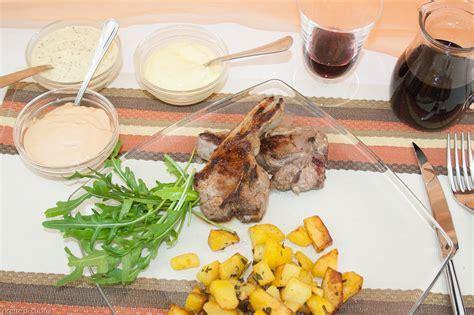 ricette per cucinare agnello costolette di agnello alla griglia ricette di cucina