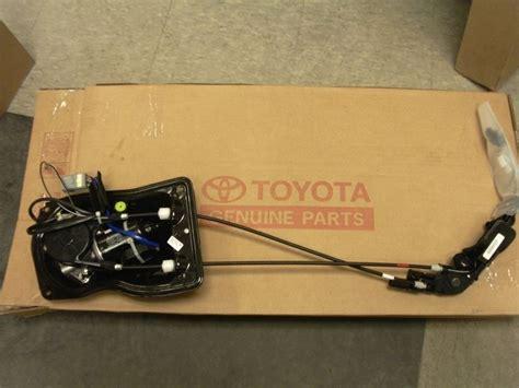Toyota Sliding Door Repair Oem Toyota Passenger Side Sliding Door Motor With
