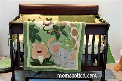 nojo jungle babies rug nojo crib bedding review giveaway momspotted