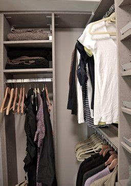How To Organize A Small Walk In Closet by 188 Best Images About Organizing On