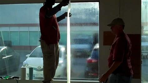 window security film diy how to install security window film part 3 quot applying
