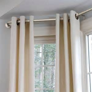 Drapery Ideas For Arched Windows Bay Window Curtain Rod Improvements Catalog