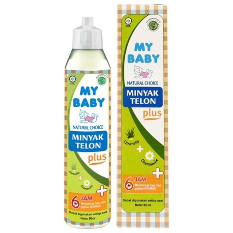 Minyak Telon Plus My Baby 90 Ml my baby telon plus 90ml