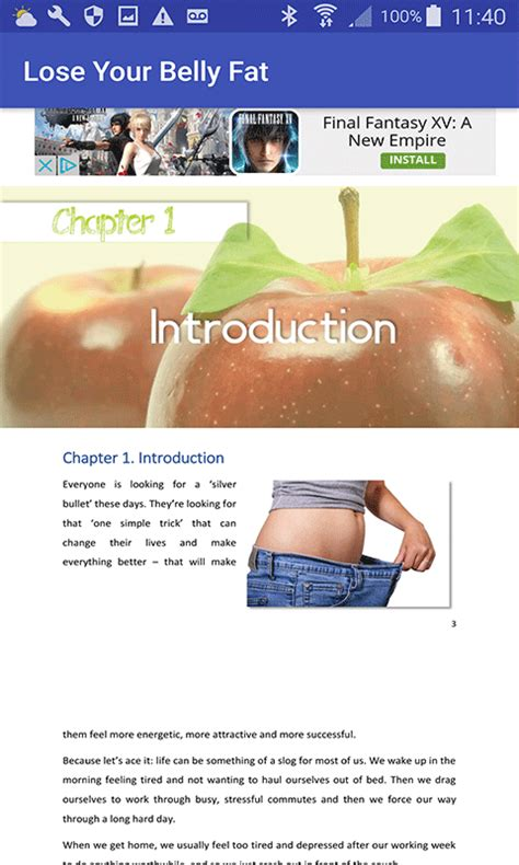 Lose Belly With A Food Journal by Free The Lose Your Belly Diet Apk For Android